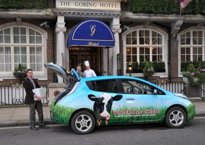 First carbon neutral delivery to The Goring Hotel 1