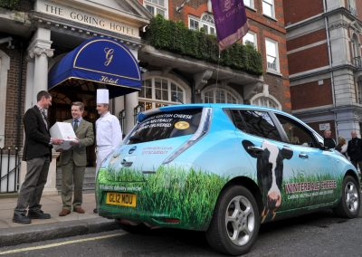 First carbon neutral delivery to The Goring Hotel 2