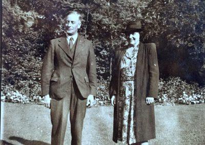 Grandma & Grandad Betts 1953