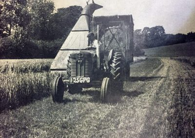 Grass Silage Making 1945