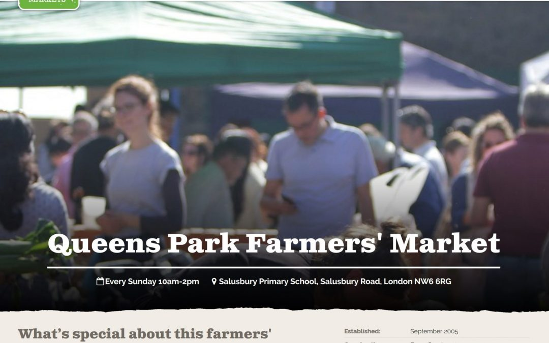 Queen's Park Farmers Market