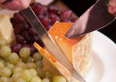 Winterdale Shaw cheese with grapes